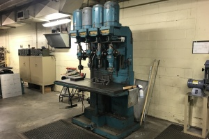 Item 1019- LELAND-GIFFORD 4-SPINDLE INDUSTRIAL DRILLING MACHINE: $4,200
